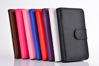 For Apple iPhone Leather  Luxury Wallet PU Leather Flip Cover Case with Credit Card Slots Holder for iphone 4 4S 5 5S for samsung galaxy S3 S4 Note 2 seven--eleven