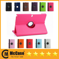 Wholesale 360 Degree Rotary PU Leather Cover Cases For Samsung Galaxy Note Pro P900 Tab3 Lite T110 Newest Tablet PC Cases