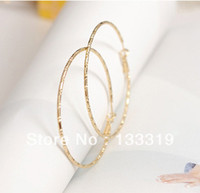 best hoop earrings - Hot new silver big hoop earrings fashion classic women jewelry best gift Fashion big round hoop earrings Min order is