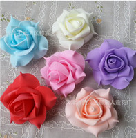 Wedding foam flowers - colors cm foam rose flower handmade DIY wedding home decoration artificial flower