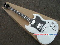Solid Body 6 Strings Mahogany Custom white 400 Electric Guitar SG classic Les electric guitar New Style