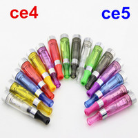 Non-Replaceable 1.6ml 1.6ml Electronic Cigarette Ego Ce4 Ce5 atomizer atomizers clearomizer for e cigarette cigarettes battery e cig cigs clearomizers ecigarette