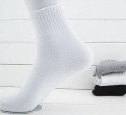 Wholesale Explosion model stylish sports sock price cotton material casual socks brand for men