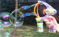 Wholesale Summer hot selling fully automatic transparent bubble gun large music extra large bubble machine