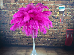 Hot Pink Ostrich Feather,12-14inch ostrich plume for Wedding centerpieces table party decoration many size