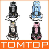 Wholesale Portable Baby Child Car Safety Booster Seat Cover Harness Cushion colors
