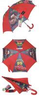 Wholesale Brand new long handle semi automatic kids umbrella safe children s umbrella for sale