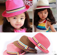 Wholesale The color of the child papyrus hat beanie hat jazz hat paternity