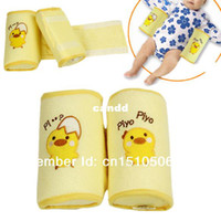 Babies PP Cotton Oblong Wholesale Baby Toddler Safe Cotton Anti Roll Pillow Sleep Head Positioner Anti-rollover correct the flat head 3996