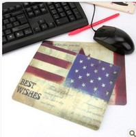 Wholesale NEW Retro Europe mouse pad Mouse Mat For Computer mouse
