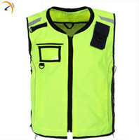 assorted clothing designs - CNSS customized design fluorecent yellow assorted color high visibility reflective security vest Safety Clothing