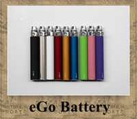 Wholesale eGo Battery Electronic Cigarette mAh mAh mAh e cig match CE4 Atomizer CE5 Clearomizer CE4 MT3 M6 colors Top quality