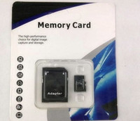 Wholesale DHL GB Class C10 SDHC TF Memory Card With SD Adapter Blister Retail Package Month Warranty Bestseller