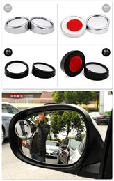 Wholesale Packing Assist NEW Car Backing Up Small Round Mirror Reverse Auxiliary Lens Blind Spots Mirro