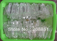 Wholesale NATURAL VERY CLEAR QUARTZ CRYSTAL POINTS HEALING s