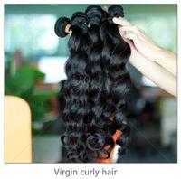 Wholesale Queen hair virgin brazilian hair loose weave human hair weft oz piece