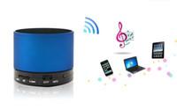 2.1 car hands free microphone - Portable Mini Wireless Bluetooth Hands Free Speaker S10 System HiFi Stereo Music Box Car Speakers Microphone Speakerphone Read Description