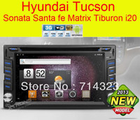 1 DIN Special In-Dash DVD Player 3.5 Inch Wholesale - car dvd HOT Android 3G WiFi Car GPS Navigation DVD Player Hyundai Santa Fe Tucson Sonata Elantra Getz Matrix Tiburon I20 Lavita