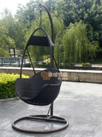 Yes   Wholesale - Rattan chair hanging basket chair small hanging basket rattan swing chair child chair indoor outdoor balcony casual hammock
