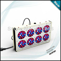 Wholesale freeshipping Real power watt Apollo8 LED plant grow light replace watt HPS MH grow lamp bulb W flowering led s