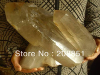 Mechanical   Wholesale - 32LB LARGE RARE NATURAL SMOKEY QUARTZ CRYSTAL CLUSTER POINTS , s Price Free Shipping