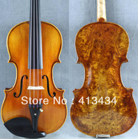 Other Yes Ebony Wholesale - High Grade BIRD EYES 4 4 VIOLIN M3974 MAESTRO Powerful Tone