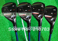 Wholesale New golf clubs Fgolf Hybrids wood loft Pc Tour AD BB KETFUELGraphite R S and Headcover