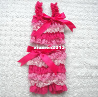 Wholesale Retail Fashion Girl s Lace Satin Ruffle Bikini Swimwear Baby Summer Swimsuit Set with Straps and Ribbon Bow