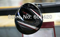 Wholesale High quality D3 golf driver degree S or R Tour AD BB graphite shaft with free headcover and wrench freeshipping