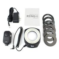 Wholesale Godox Ring48 Macro LED Ring Light for mm Lenses K K E2048A