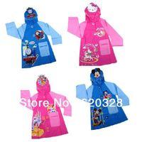 Wholesale Kids Rain Coat Children s Raincoat Rain Pullover Waterproof Thick Cartoon Animal Outdoor Rain Jacket For Children Rainwear