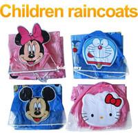 Wholesale Kids Rain Coat children Raincoat Rainwear Rainsuit Kids Waterproof Animal Raincoat