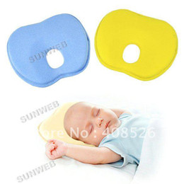Wholesale New Newborn Baby Toddler Safe Anti Roll Pillow Sleep Head Positioner Preventing Flat Head