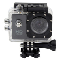 Wholesale New SJ4000 Helmet Sports DV P Full HD H MP Car Recorder Diving Bicycle Action Camera Waterproof Black Q3051A