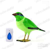 Wholesale LLFA4415 Tracking Number Hot New Bird Wireless Doorbell Remote Control Chime Doorbell Alarm