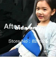 Wholesale 2 Hot Sale car safety belt adjust device baby child safety belt protector seat belt positioner colors