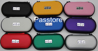 Ego CE4 Starter Kit cigarette électronique E-Cigarette cas de Zipper Double Kit 2 atomiseurs 2 batterie 650mAh 900mAh 1100mAh toutes les couleurs disponibles