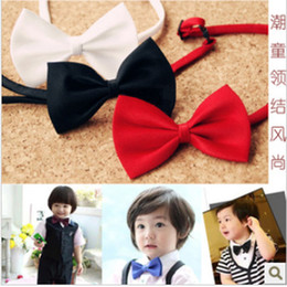 Children's ties a bow tie baby boys and girls children cravat tie trumpet Korean students show little bow tie