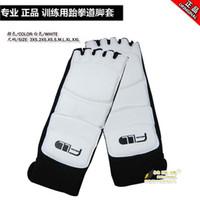 Wholesale Taekwondo foot protector fighting foot guard FLL kick boxing boot
