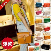 Wholesale lovely high quality price envelop bag message bag college style faux leather cross body shoulder bag handbag
