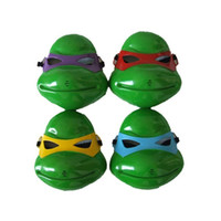 Wholesale Hot sale kids hall halloween Costumes Masks HALLOWEEN PARTY MASKS Halloween Masks Ninja Turtles Movie TMNT Mask colors choose plastic