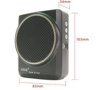 Wholesale AKER MR2700 W Waistband Portable PA Voice Amplifier Booster MP3 Speaker FM