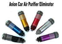 Wholesale Anion Purifier Eliminator Anion Auto Mini Air Purifier Eliminator Ozone Eliminator Refresh Your Car