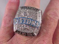 Wholesale 2004 DETROIT Championship Champion Basketball PISTONS Rings Set With Name Billups US Size W Gift Box A