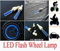 Wholesale LED Flash Tire Light Bicycle Car Spare Part New Car and Bicycle Bike Tyre Wheel LED Valve Cap