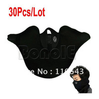 Wholesale 30Pcs New Neoprene Winter Warm Neck Ski Face Mask Veil Guard Sport Bike Motorcycle Snowboard