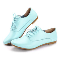 Women Flast shoes Summer 2014 New Fashion Womens Ladies Lace Up Retro Vintage Oxford Brogues Casual Pumps Flat Shoes US Size 4-7 (ex48)Free Shipping