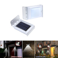 Wholesale 16 LED Solar Power Motion Sensor Detector Outdoor Security Light lamp Waterproof