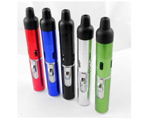Windproof Metal Cigarette New 5 colors Click N Vape Herbal Vaporizer New Portable Herbal Vaporizerin Vape vapor portable Vaporizer Wind Proof Torch Lighter Free Shipp