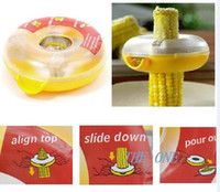 Wholesale Kitchen Helper Easy Peel One Step Corn Kerneler Stripper Peeler Remove Corn EMSM FREE